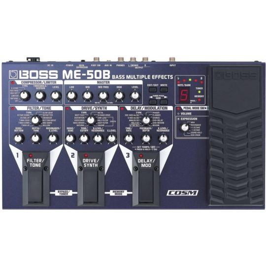Boss ME-50B - baskytarový multiefekt