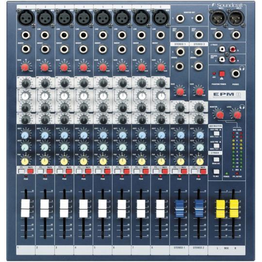 SOUNDCRAFT EPM 8 - mixážní pult