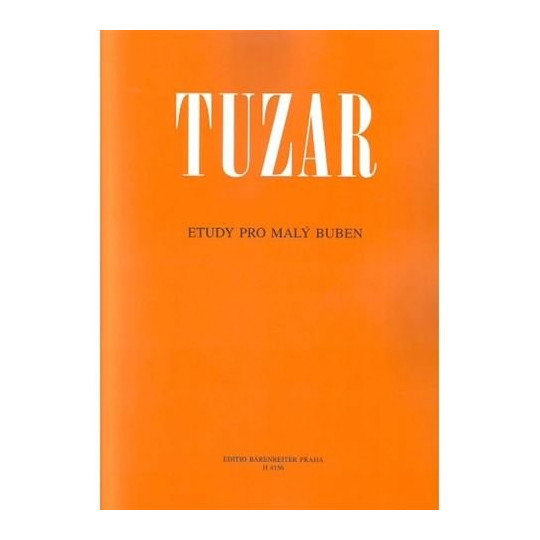 Etudy pro malý buben - Josef Tuzar
