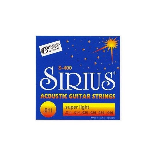 Sirius S-400 struny kytarové
