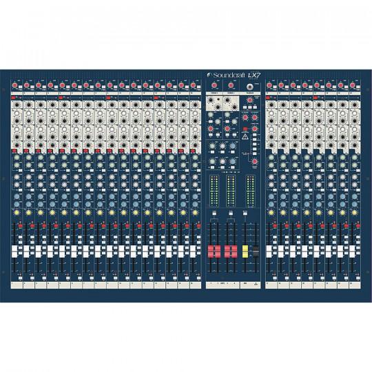 Soundcraft LX7ii24ch - mixážní pult, 24 kanálů