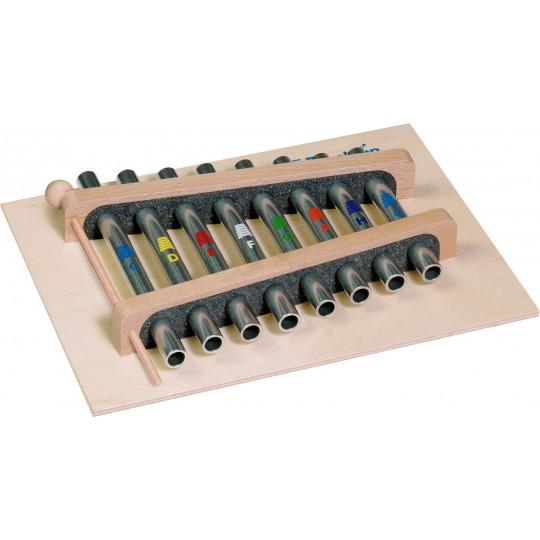 GOLDON Trubičkový xylofon - 8 kamenů, c3-c4 (11350)