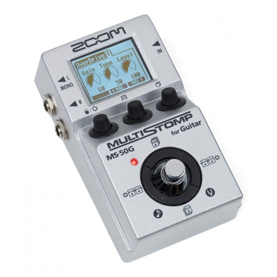 Zoom MS-50G Multi Stomp - kytarový multiefekt
