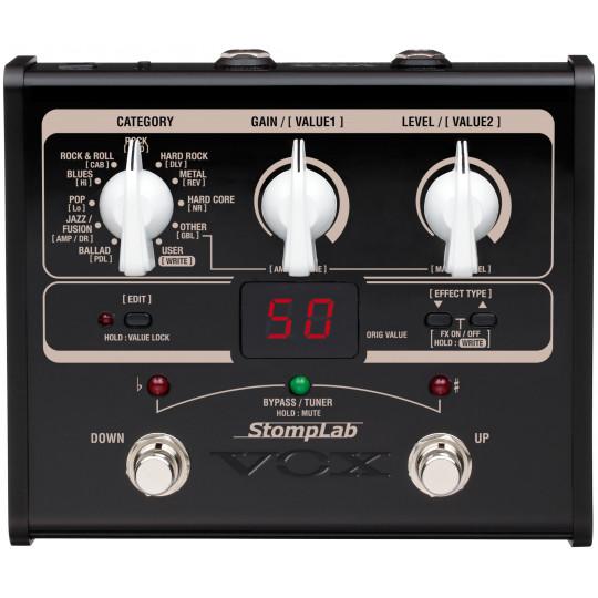 VOX STOMPLAB 1G - modelingový kytarový efektový procesor
