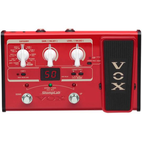 VOX STOMPLAB 2B - modelingový basový efektový procesor