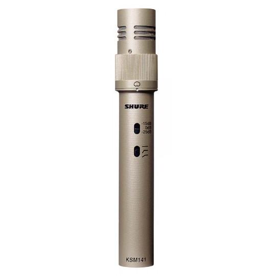 SHURE KSM141/SL - kondenzátorový mikrofon studiový s kufrem