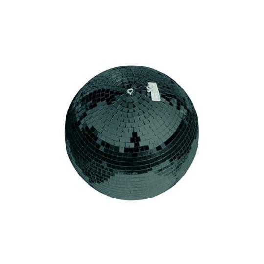 Zrcadlová koule 75 cm černá