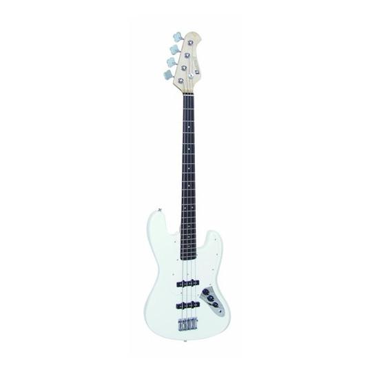 Dimavery JB-302 E-Bass, bílý