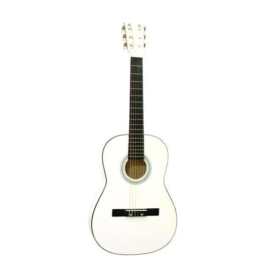 Dimavery AC-300 klasická kytara 3/4, bílá