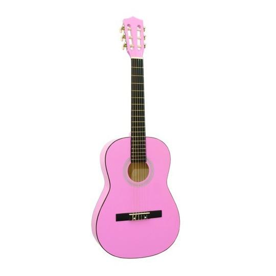 Dimavery AC-300 klasická kytara 3/4, růžová