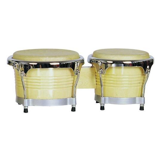 """Dimavery BG-67 bonga, 6,5""""+ 7,5"""", přírodní"""