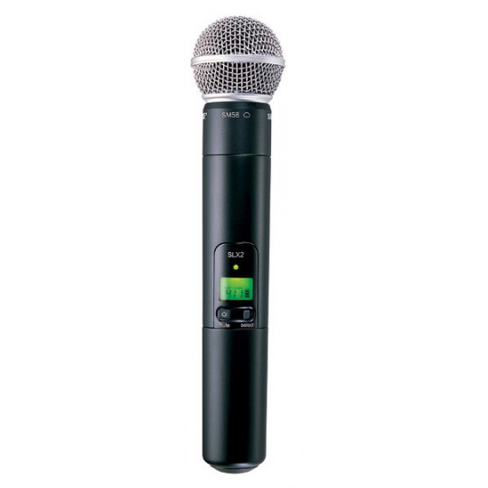 SHURE SLX2/SM58 - vysílač řady SLX s dynamickým mikrofonem SM58