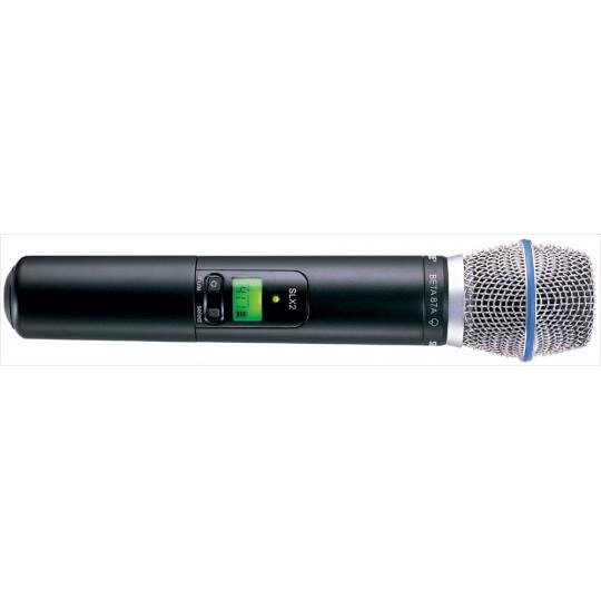 SHURE SLX2/BETA87A - vysílač řady SLX s kondenzátorovým mikrofonem BEAT 87A