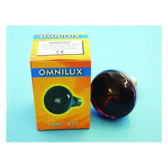 230V/60W E27 Omnilux, růžová
