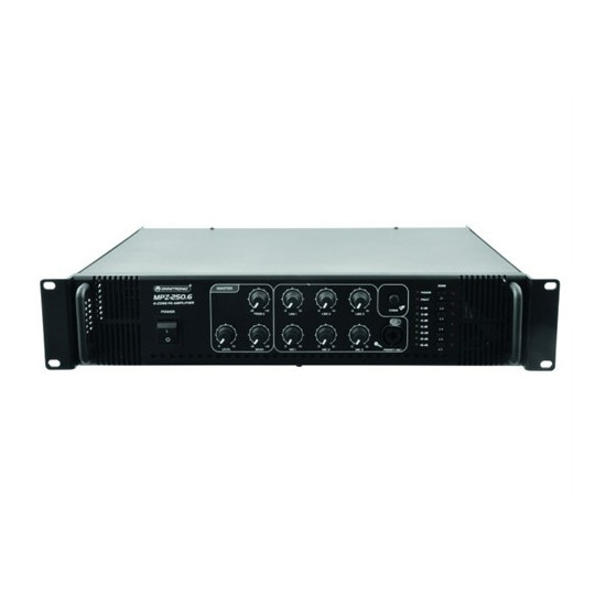 Omnitronic MPZ-250.6 PA mixing amplifier