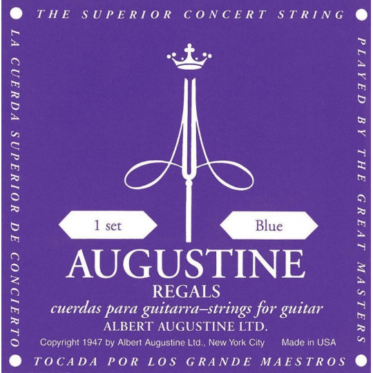 Augustine struny pro klasickou kytaru Modrá sada