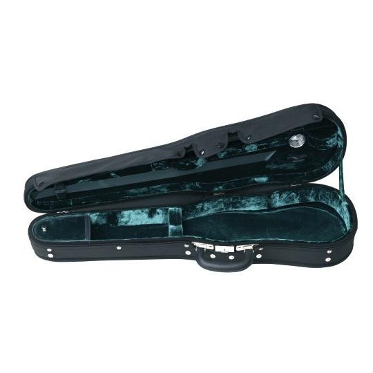 Gewa Tvarové pouzdro pro housle Liuteria Maestro 4/4 zelený plyš