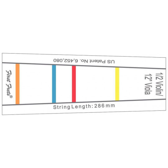 Gewa Značení na hmatníku First Fret 231 mm pro 1/8 housle