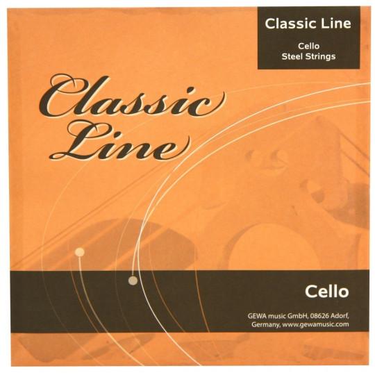 GEWApure Struny pro Cello Classic Line 1/4