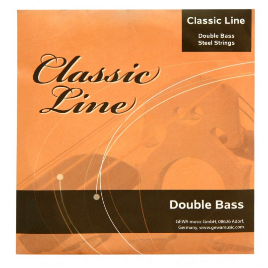 GEWApure Sada strun pro kontrabas Classic Line 1/2