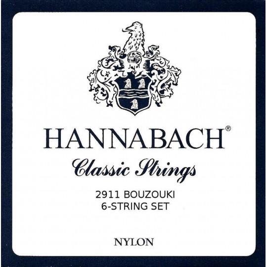 Hannabach Struny pro Bouzouki Sada 2911S6