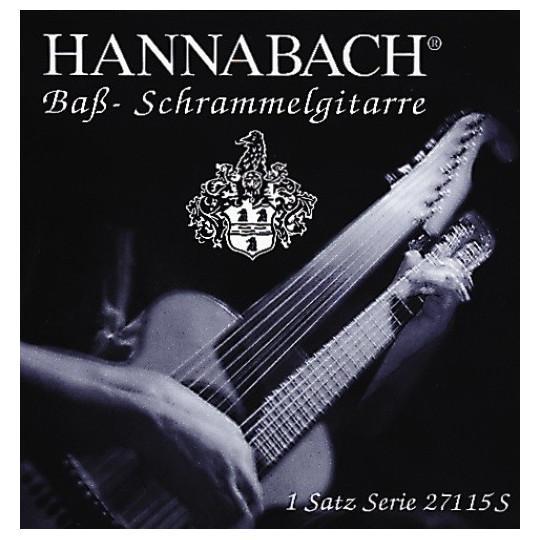 Hannabach Hannabach struny pro bas kytaru Sada 15 strun