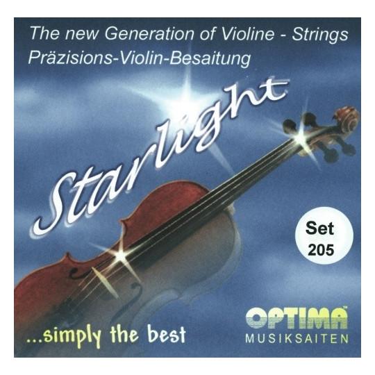 Optima struny pro housle Starlight Sada