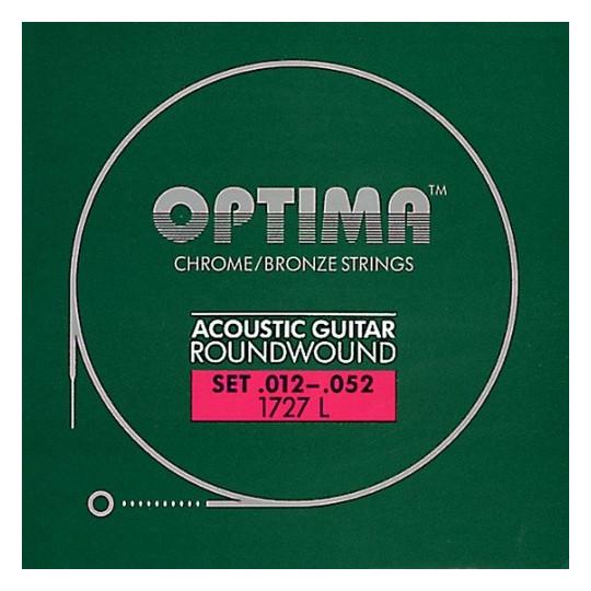 Optima struny pro akustickou kytaru Bronze Strings Sada