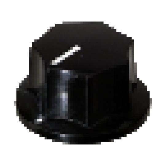 Partsland Poti-knoflík Černá, veliký