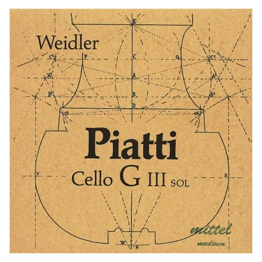 Piatti Piatti struny pro čelo Medium
