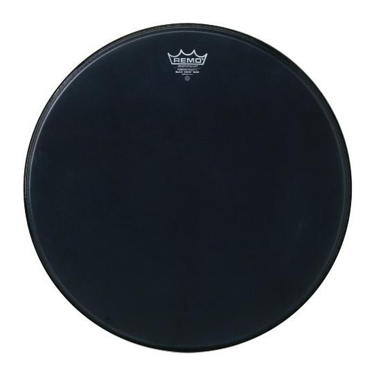"""Remo Powerstroke 3 Black Suede Bass drum 24"""" P3-1824-ES"""