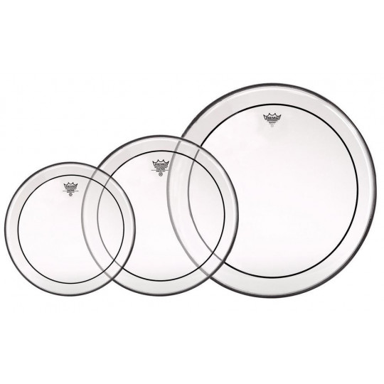 Remo Pinstripe Transparent ProPack PP-0912-PS