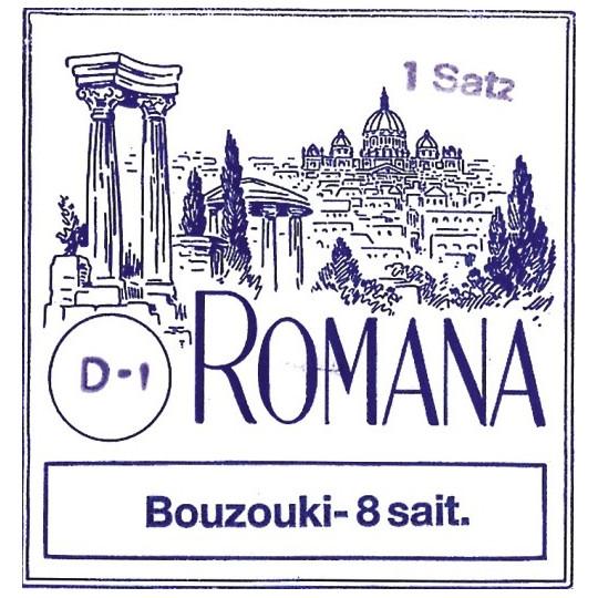 Romana struny pro Bozouki Sada
