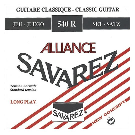 Savarez struny pro klasickou kytaru Concert Alliance 540 Sada
