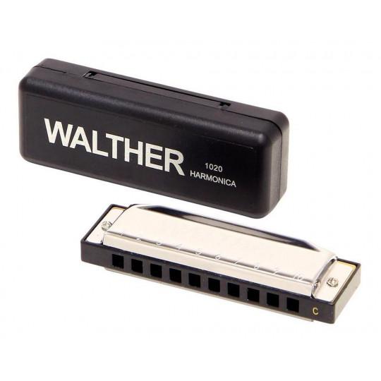 Walther Foukací harmonika Walther Richter model C – Dur