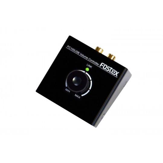 FOSTEX PC-100USB - ovladač hlasitosti USB DAC