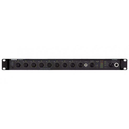 SHURE SCM820E-DAN-DB25 - digitální automatický mix, DANTE, DB25