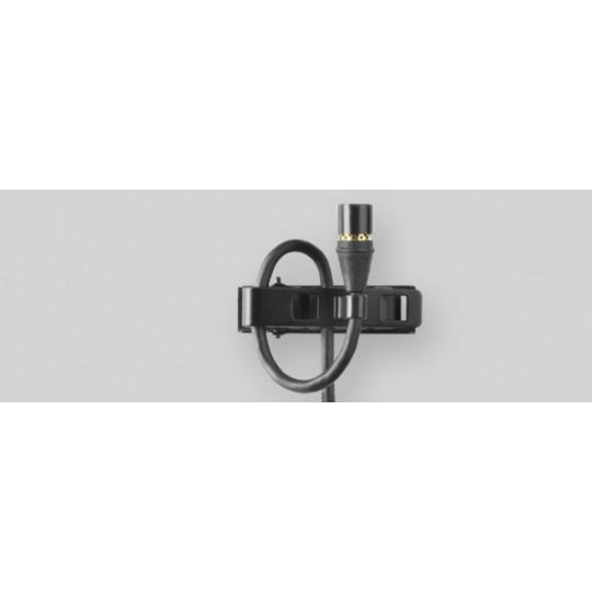 SHURE MX150B/C-TQG - miniaturní klopový mic, kardioida, mini-XLR, černý