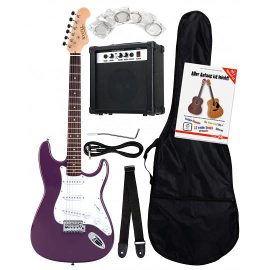 RocktileBanger'sPack PURPLE - kytarový set