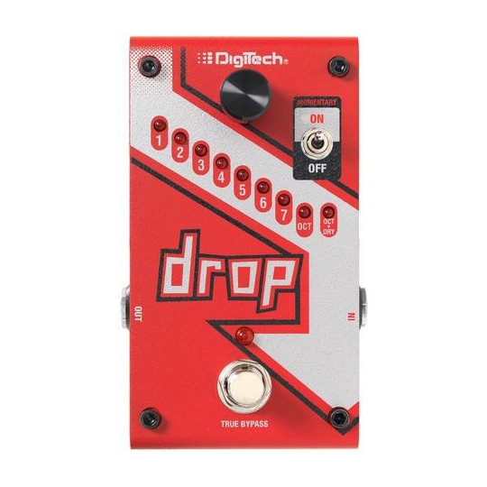 DIGITECH DROP -drop tuner / pitch shifter