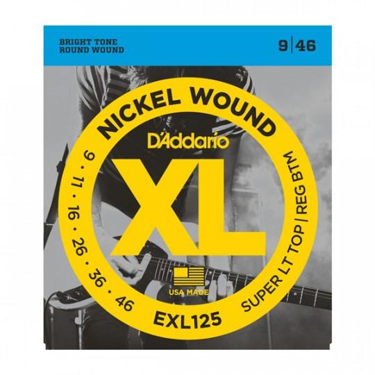 D'Addario EXL125 - struny pro elektrickou kytaru