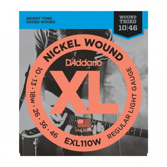 D'Addario EXL110W - struny pro elektrickou kytaru