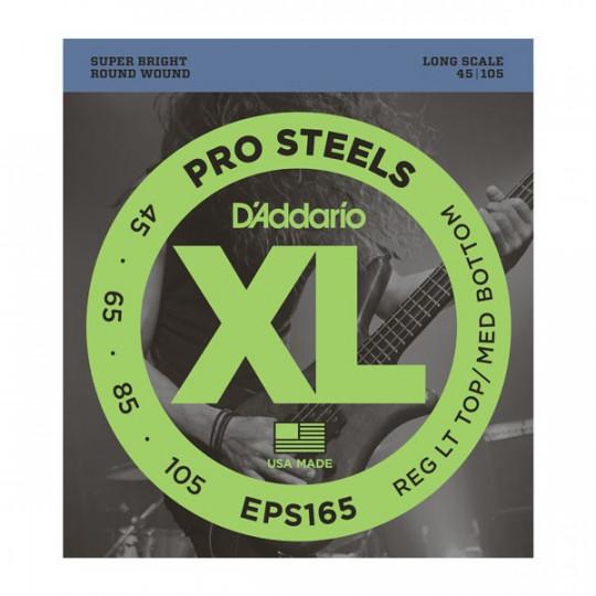 D'Addario EPS165 - struny pro baskytaru - dlouhá menzura (34palců)