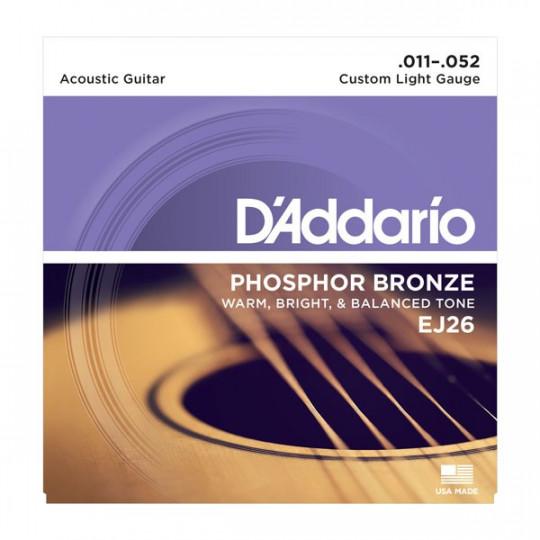 D'Addario EJ26 - struny pro akustickou kytaru