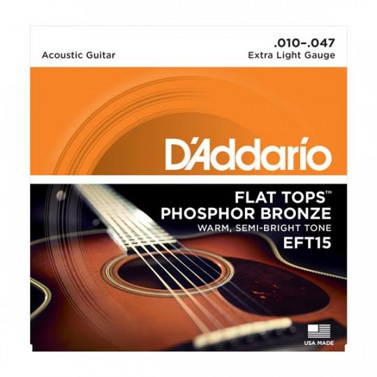D'Addario EFT15 - struny pro akustickou kytaru