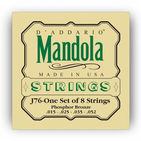 D'Addario J76 - STRUNY NA MANDOLU