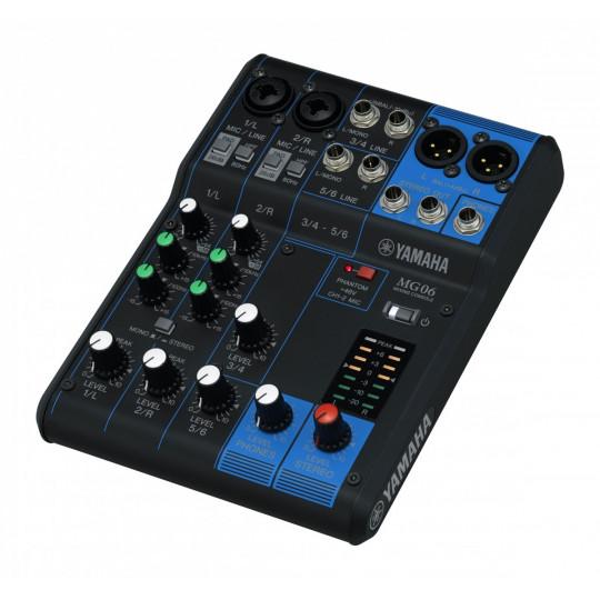 Yamaha MG06 - Mix, 6 kanálů