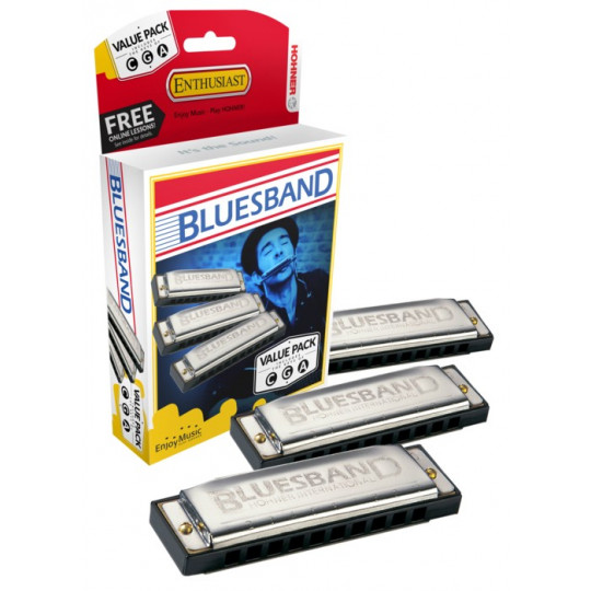 HOHNER Blues Band ValuePack (C-, G-, A-major)