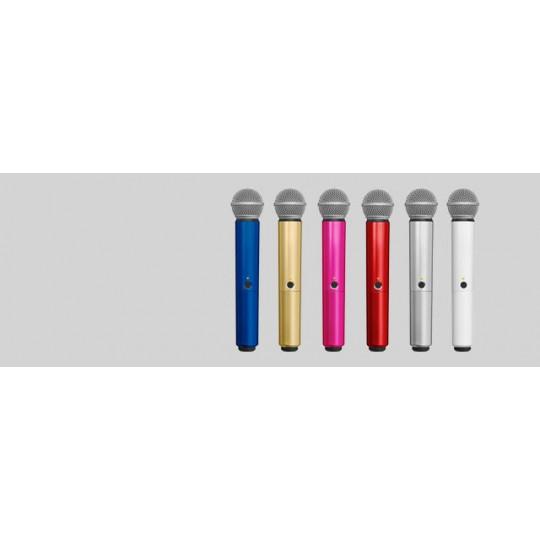 SHURE WA713-BLU - BLX SM58/B58A handle, modrá