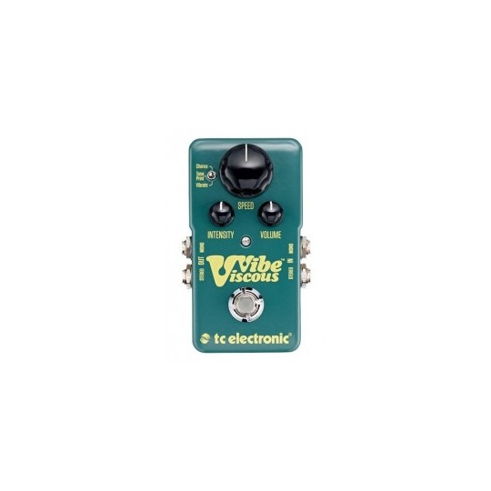 TC ELECTRONIC Viscous Vibe, True bypass pedal, Toneprint
